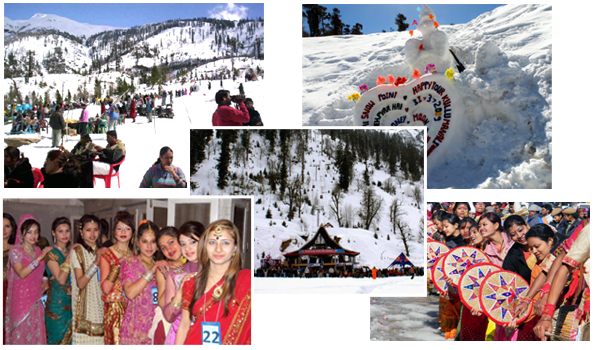 Manali winter festival
